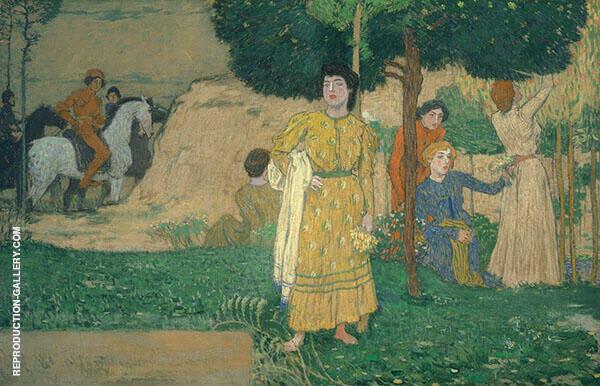 Girl's Dream Painting By Jan Preisler - Reproduction Gallery