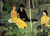 Lovers 1908 By Jan Preisler
