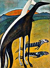 Greyhounds c1911 By Amadeo de Souza Cardoso