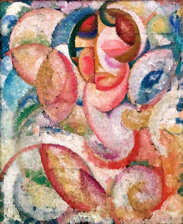 Head 1913 By Amadeo de Souza Cardoso