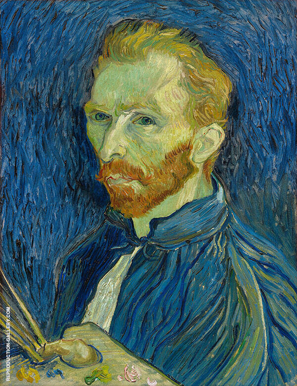 Self-Portrait 1899 Painting By Vincent van Gogh - Reproduction Gallery