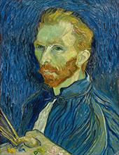 Self-Portrait 1899 By Vincent van Gogh