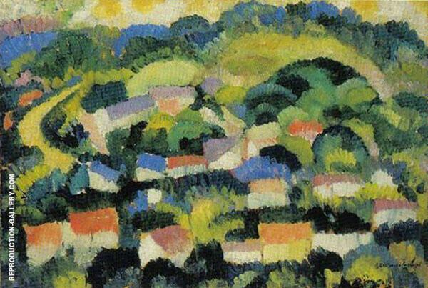 Landscape Painting By Amadeo de Souza Cardoso