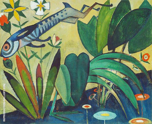 Leap of The Rabbit 1911 By Amadeo de Souza Cardoso
