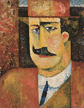 Portrait of Francisco Ferreira Cardosa By Amadeo de Souza Cardoso