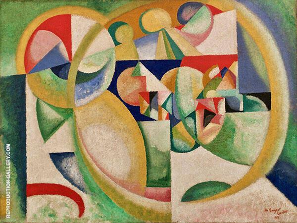 Study B 1913 By Amadeo de Souza Cardoso