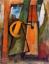 Watermill 1914 By Amadeo de Souza Cardoso
