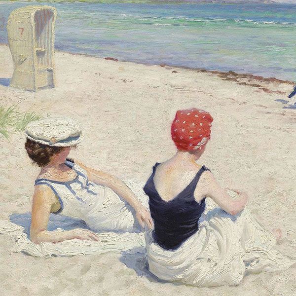 Oil Painting Reproductions of Paul Gustav Fischer