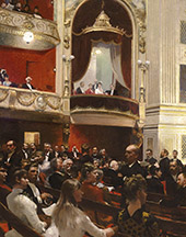 An Evening at The Royal Theatre By Paul Gustav Fischer