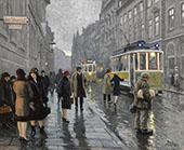 Bredgade Copenhagen By Paul Gustav Fischer