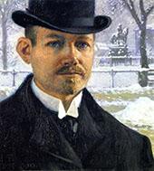Self Portrait 1909 By Paul Gustav Fischer