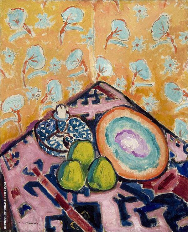 Still Life c1909 By Alfred Henry Maurer