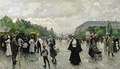 What's Going on in Copenhagen By Paul Gustav Fischer