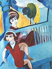 Ivan in The Armchair By Sigrid Hjerten