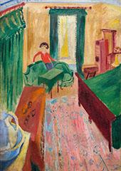 Ivan on The Sofa By Sigrid Hjerten