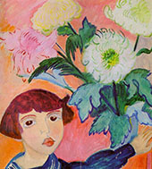 Ivan with Flowers By Sigrid Hjerten