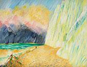 Kritklippor 1935 By Sigrid Hjerten