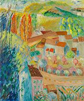 Paris Soundings c1923 By Sigrid Hjerten
