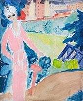 Rose Promenade By Sigrid Hjerten