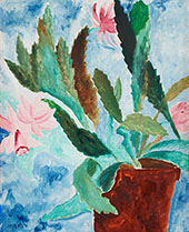 Still Life with Flower By Sigrid Hjerten