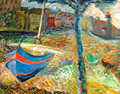 The Blue Boat By Sigrid Hjerten