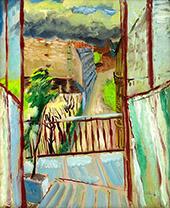 The Open Window By Sigrid Hjerten