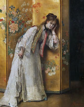 Inquisitive By Alfred Stevens
