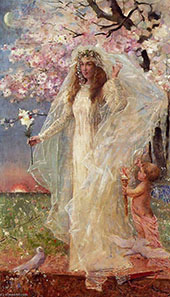 L'Amore et l'Hymenee By Alfred Stevens