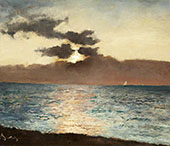 Seascape Le Treport By Alfred Stevens