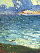 By The Sea By Henri Jean Guillaume Martin