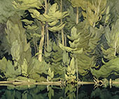 Pattern Shore By A J Casson