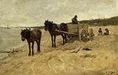 Sand Carting By Anton Mauve