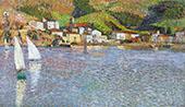 Hameau Face au Port de Collioure By Henri Jean Guillaume Martin