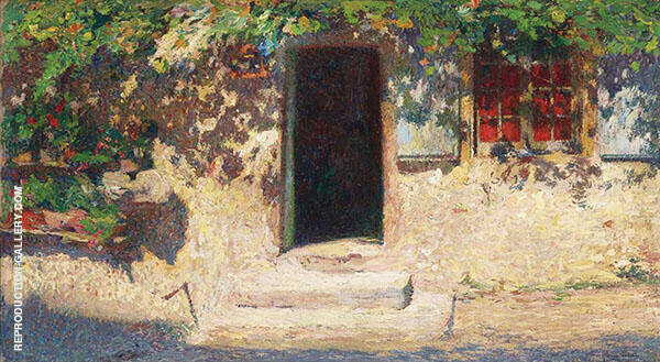 La Porte Entree By Henri Jean Guillaume Martin