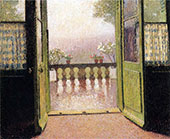 La Terrasse By Henri Jean Guillaume Martin