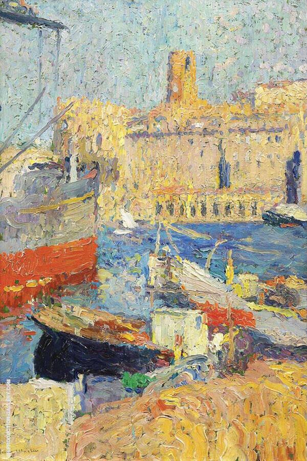 Marseille By Henri Jean Guillaume Martin