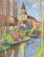 The Church in Labastide du Vert By Henri Jean Guillaume Martin