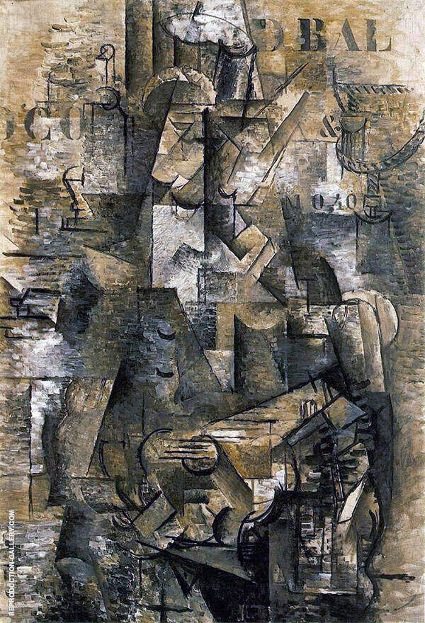 Portuguese 1911 Painting By Georges Braque - Reproduction Gallery