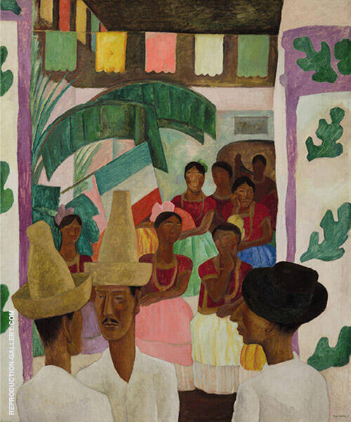 The Rivals Painting By Diego Rivera - Reproduction Gallery