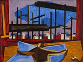 The Architect 1959 By Jacob Lawrence
