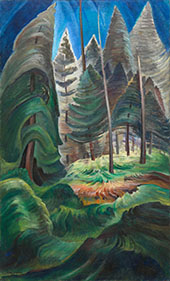 A Rushing Sea of Undergrowth 1935 By Emily Carr