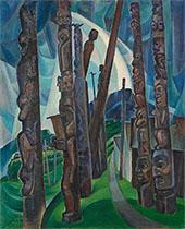 Kitwancool 1928 By Emily Carr