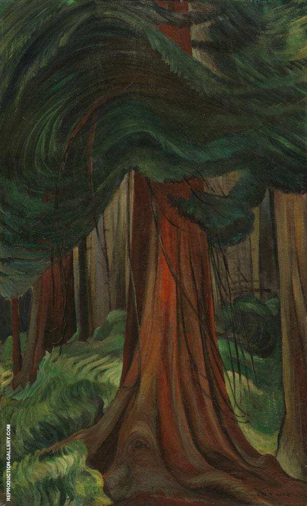 Red Cedar 1931 By Emily Carr