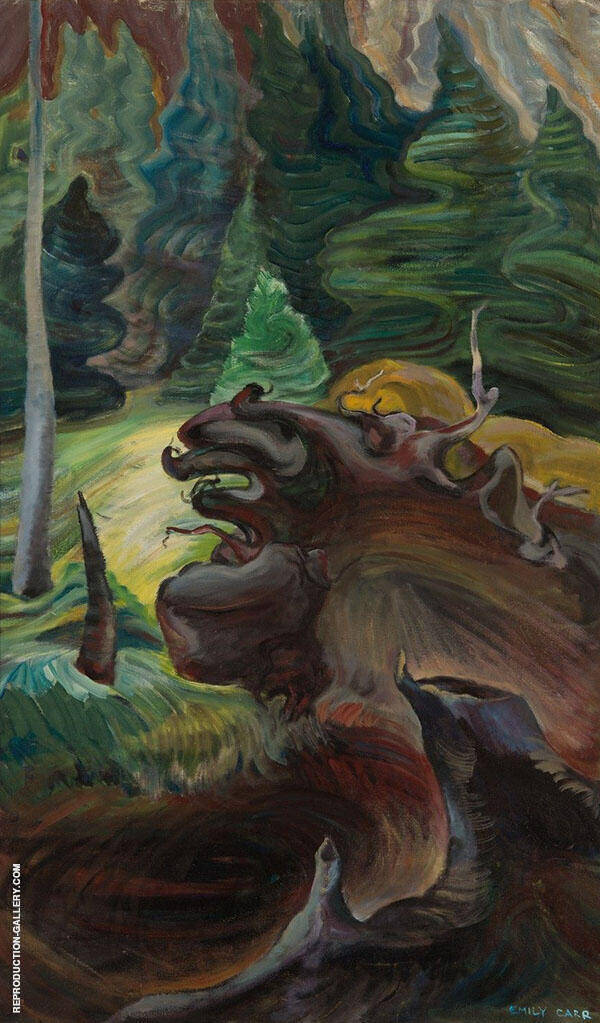 Roots 1937 By Emily Carr
