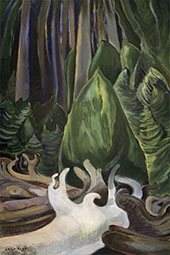 Sea Drift at The Edge of The Forest 1931 By Emily Carr