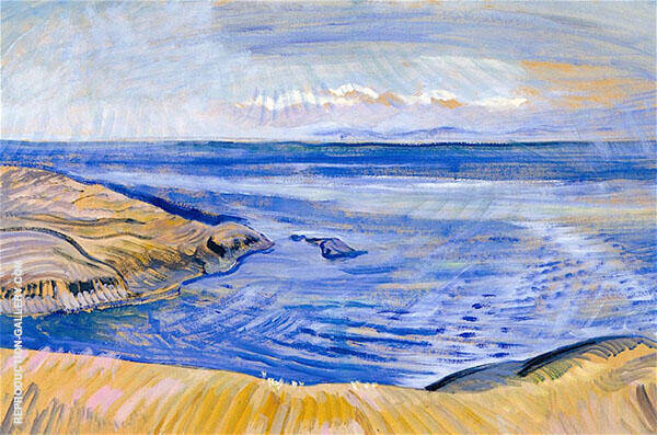 Seascape 1935 By Emily Carr