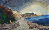 Shoreline 1936 By Emily Carr