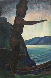 Silhouette No2 1930 By Emily Carr