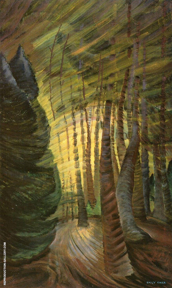 Sombreness Sunlit 1937 By Emily Carr