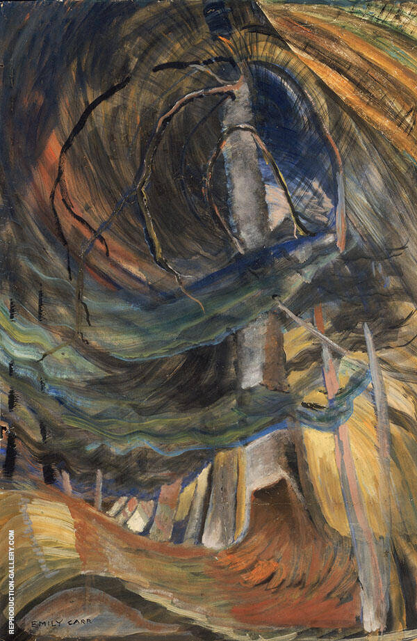 Spiralling Upward 1933 By Emily Carr